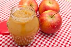 De Jam van de appel royalty-vrije stock foto