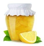 De jam van de citroen Royalty-vrije Stock Afbeelding