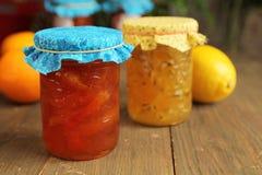 De jam van de citrusvrucht Stock Foto's