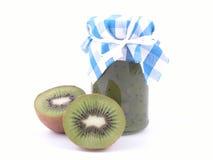 De jam van de kiwi Royalty-vrije Stock Afbeeldingen