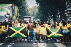 De Jamaicaanse Vieringen van de Heuvelcarnaval van Vlotternotting stock foto's
