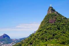 _ de janeiro Ρίο άγαλμα Χριστού Ιησούς Στοκ εικόνες με δικαίωμα ελεύθερης χρήσης