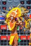 24 de janeiro de 2016 Iloilo, Filipinas Festival Dinagyang Unid Fotografia de Stock