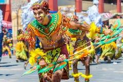 24 de janeiro de 2016 Iloilo, Filipinas Festival Dinagyang Unid Imagens de Stock Royalty Free