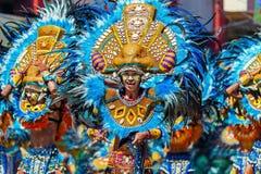 24 de janeiro de 2016 Iloilo, Filipinas Festival Dinagyang Unid Imagens de Stock