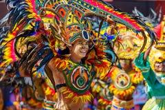 24 de janeiro de 2016 Iloilo, Filipinas Festival Dinagyang Unid Foto de Stock Royalty Free