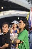 5 de janeiro de 2014: Protestadores antigovernamentais em Democra Imagem de Stock