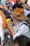 5 de janeiro de 2014: Protestadores antigovernamentais em Democra Imagem de Stock Royalty Free