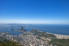 de janeiro Geografia Rio zdjęcie stock