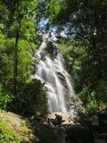 7 de janeiro de 2016, Itatiaia, Rio de janeiro, Brasil, cachoeira de Véu a Dinamarca Noiva no parque nacional de Itatiaia foto de stock royalty free