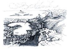 de janeiro rio Arkivbilder