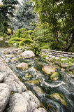 De Japanese tuin van Albert Khan Stock Fotografie
