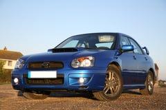 De Japanse Auto van Prestaties Stock Foto's