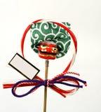 De Japanse decoratie van het Nieuwjaar Stock Foto's