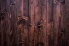 De Japanse donkere textuur van het pijnboomhout Stock Foto