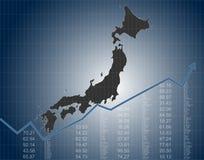 De Japanse Financiën en de Economie royalty-vrije illustratie