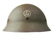 De Japanse Helm van de Burgerbescherming Stock Afbeelding