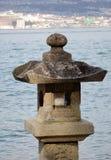De Japanse Lantaarn van de Steen Royalty-vrije Stock Foto's