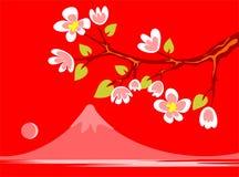 De Japanse lente stock illustratie