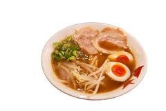De Japanse noedel van RAMEN Stock Fotografie