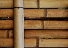 De Japanse Omheining van het Bamboe Royalty-vrije Stock Fotografie