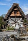 De Japanse Oude Hut Royalty-vrije Stock Foto's