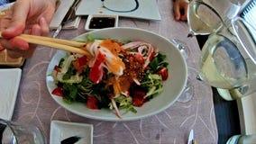 De Japanse Salade van surimivissen