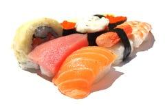 De Japanse Sushi van Tredtional Stock Afbeeldingen