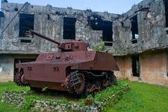 De Japanse Tank van de Wereldoorlog II Stock Foto's