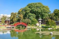 De Japanse Tuinen van Buenos aires Royalty-vrije Stock Foto