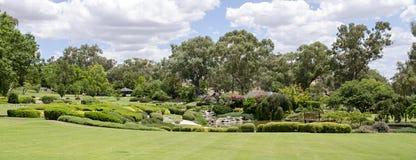 De japanska trädgårdarna Royaltyfria Foton