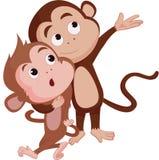 De jaren van de aap Stock Foto's