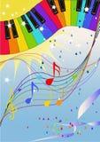 De jazz van de regenboog Stock Fotografie
