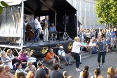DE JAZZfestival 2013 VAN KOPENHAGEN stock foto's