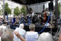DE JAZZfestival 2015 VAN KOPENHAGEN stock foto's