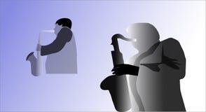 De jazzmeesters vector illustratie