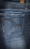 De jeans steunen zak Royalty-vrije Stock Afbeelding