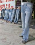 De jeans van de begroting stock foto