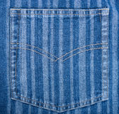De jeans van de zak Royalty-vrije Stock Afbeeldingen