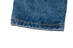 De jeans van het randbeen Stock Fotografie