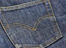 De jeans van Levi stock afbeelding