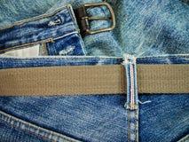 De jeans van Nice in uitstekende stijl Stock Foto's