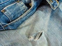 De jeans van Nice in uitstekende stijl Stock Afbeeldingen