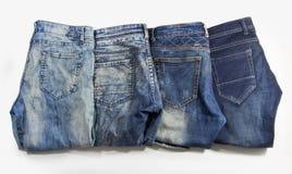 De jeans zijn prachtig gedetailleerd stock afbeelding