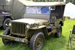 1960 de jeep van Amercan Hotchkiss Stock Afbeelding