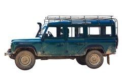 De jeep van de safari Stock Afbeeldingen