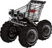 De Jeep van het karretje Royalty-vrije Stock Afbeeldingen