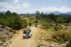 De jeepsafari van Turkije Stock Afbeelding