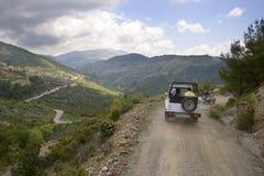 De jeepsafari van Turkije Stock Afbeeldingen
