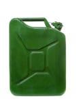De jerrycan van de benzine Stock Foto's